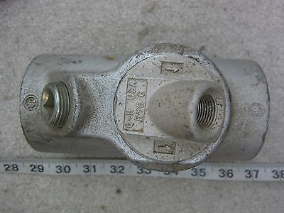 Crouse Hinds EYS6 Conduit Fitting  w EYD6 Cover, New