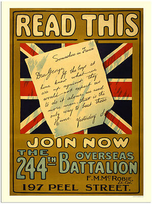 Read This -  Wartime Poster