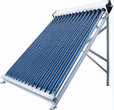 30 Vacuum Tube Pool Solar Water Heater Collector Stainless Steel Heating Hot