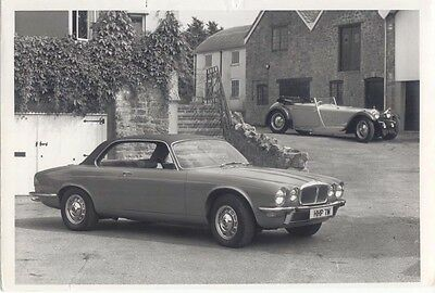 Daimler Double Six 2 period b/w Photographs ex Neill Bruce