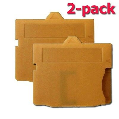 2-PACK MASD-1 microSD/TF to XD Card Adapter Adaptor for Olympus (Yellow)