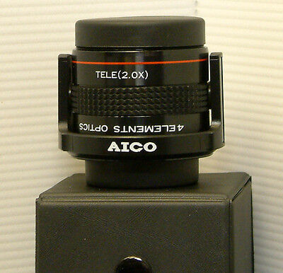 Aico 2in1 Telephoto / Wide Angle Quick flip Lens for Camcorders - AIA-LA-010