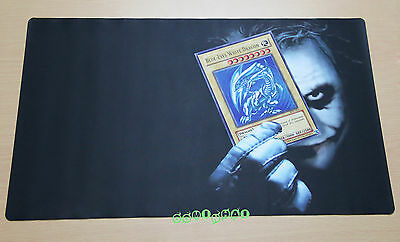 B446 Free Mat Bag Custom Playmat Blue Eyes White Dragon Yugioh Play Mat Joker