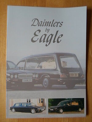 EAGLE Specialist Vehicles Daimler 4.0 Litre Hearse & Limousine c1995 brochure