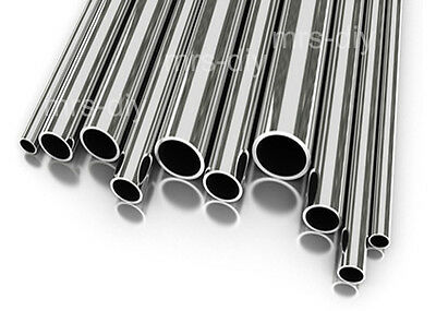 42.4mm OD x 100mm Stainless Steel Tube 316 Marine Grade SUPER MIRROR POLISHED