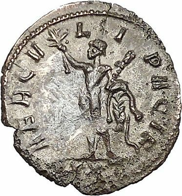 PROBUS 281AD Authentic Ancient Roman Coin Hero Hercules  i40726