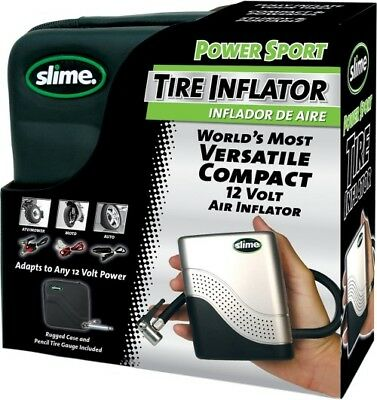 SLIME PSI Power Sport Inflator 40001 Motorcycle ATV Enduro ADV Touring Tire Pump