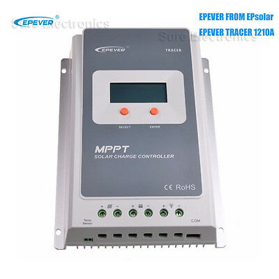 EPever Tracer A 10A/20A/30A/40A MPPT Solar Charge Controller or MT50 or Wifi