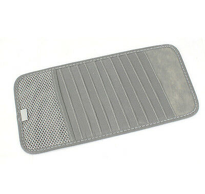 12 Pocket CD / DVD Car Auto Truck Sun Visor Organizer Holder Case Storage Gray