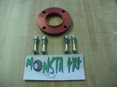 Land Rover Discovery 2 15mm Prop Shaft Spacer Kit Monsta 4x4 Brand