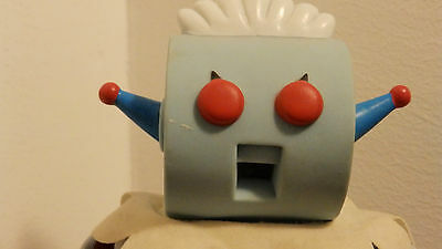 George Jetson and Rosie Robot Maid Vinyl Dolls from Applause 1990s With Tags