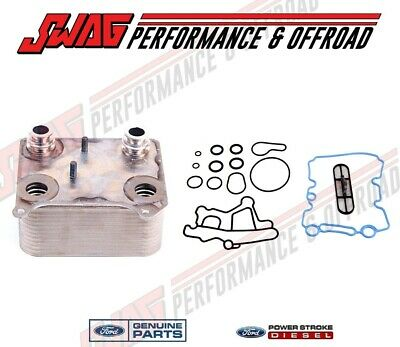 Genuine Ford OEM 6.0L Powerstroke Diesel Engine Oil Cooler 3 YEAR WARRANTY