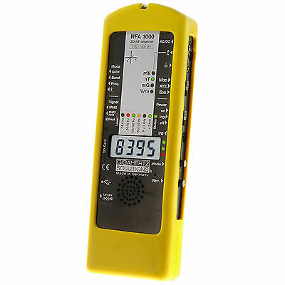 Gigahertz Solutions NFA1000 EMF Meter Gauss Meter TOP OF THE LINE!