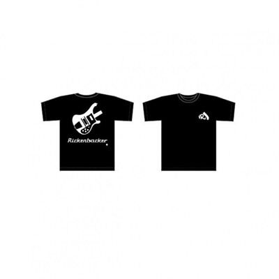 Rickenbacker Bass Guitar T-Shirt - Black