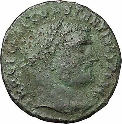 CONSTANTINE I the GREAT 313AD Ancient Roman Coin Zeus Jupiter Cult  i40851
