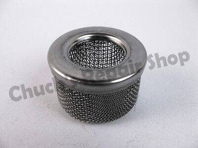"""Chucks Aftermarket 181072 or 181-072 Filter Inlet suction 1"""" NPT double"""