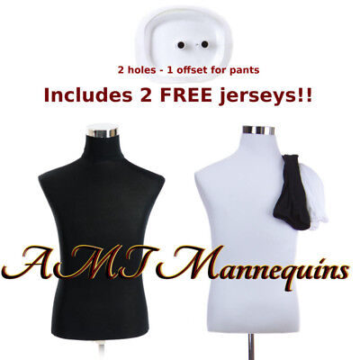 Male torso +stand, mannequin dress form, +2covers, men body, Torso-MH-BH102