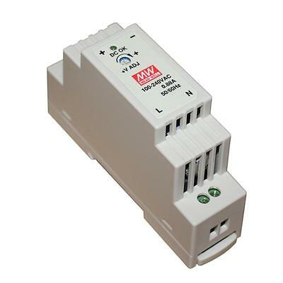 Din-Rail power supply 15W 12V 1,25A ; MeanWell, DR-15-12