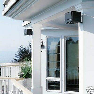 Bose 151 Environmental Outdoor Patio Speakers with Mounting Hardware Black - NEW