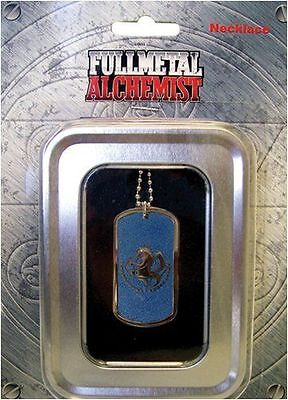 Fullmetal Alchemist Blue State Alchemist Symbol Dog Tag Official Merch Necklace
