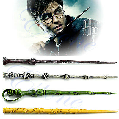 Harry Potter Magic Wand Collection Wizard Deathly Hallows Hogwarts Gift