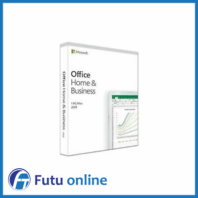 Microsoft Office Home & Business 2016 Word Excel PowerPoint Outlook Retail 1PC