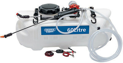 Draper Expert 60 Litre 12V Dc Atv Spot / Sprayer with next working day delivery