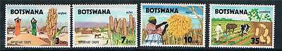 Botswana 1971 Important Crops SG 276/9 MNH