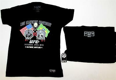 "Ufc 172 Jones Vs Teixeira ""limited Edition"" T-Shirt - Individually Numbered Nwt"