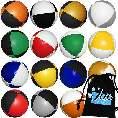 Jac Products '8 Panel' Pro Thud Juggling Balls & FREE Bag! PRICE IS PER BALL