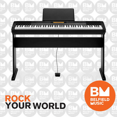 Casio CDP230 Digital Electric Piano Black CDP-230 88 Key with Wooden Stand