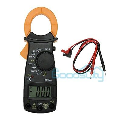 AC Multimeter Electronic Tester Digital Clamp Meter Multimeter Current lead