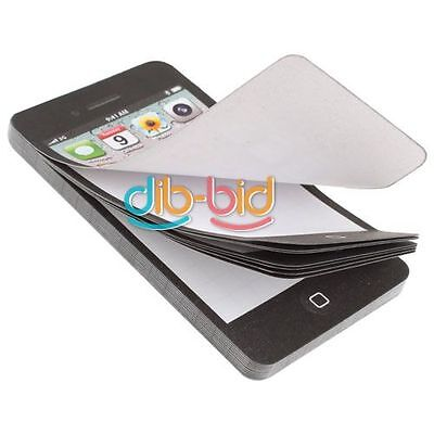 Téléphone cellulaire Bloc-notes Cadeau Mini Collant Post-It Note papier