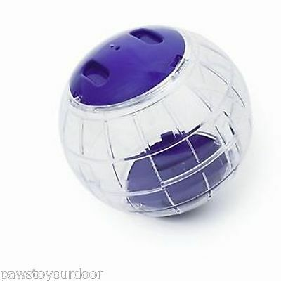 Hamster exercise ball gerbil play toy transparent pennine various colours
