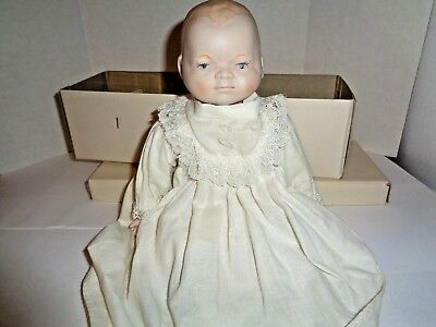 Shackman 12 inch Handmade Antique Replica Bisque Baby made in Japan