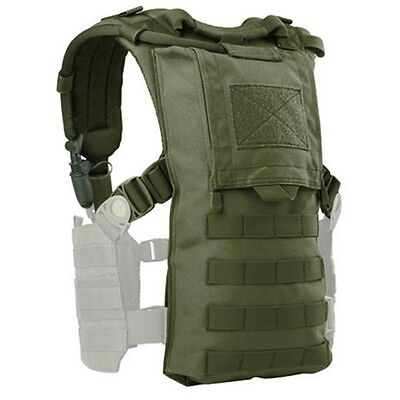 Condor 242 MOLLE Hydro Harness Modular Carrier Contoured Padded Straps OD Green