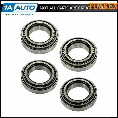 TIMKEN Bearing & Race Front Inner & Outer Set of 4 for Chevy Dodge Ford GMC Jeep