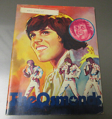 1976 THE OSMONDS Creative Educational Society Softcover 32 pgs Bio 7x9.5