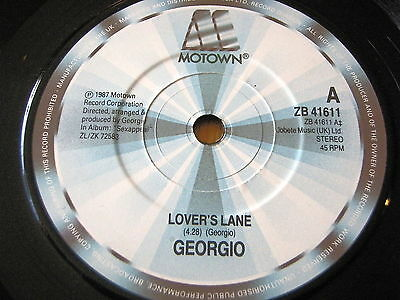 "Georgio - Lovers Lane    7"" Vinyl"