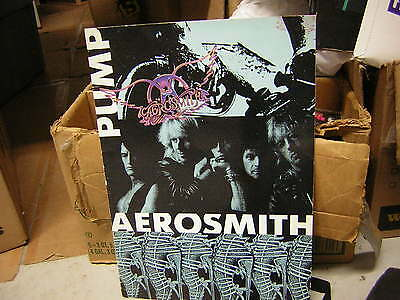 Aerosmith Tour Book Pump 1989 -1990 Steven Tyler Joe Perry