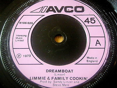 """Limmie & Family Cookin' - Dreamboat     7"""" Vinyl"""