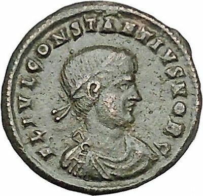 CONSTANTIUS II son of  Constantine the Great  Ancient Roman Coin Standard i41033
