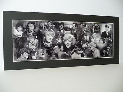 SOME LIKE IT HOT -PRINT- Marilyn Monroe, Curtis, Lemmon