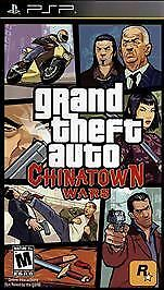 Grand Theft Auto Chinatown Wars GTA Car Racing PSP NEW