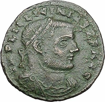 Licinius I Constantine The Great enemy 313AD Ancient Roman Coin Jupiter  i41310