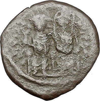 Justin II & Queen Sophia 565AD Large Ancient Medieval Byzantine Coin i41341