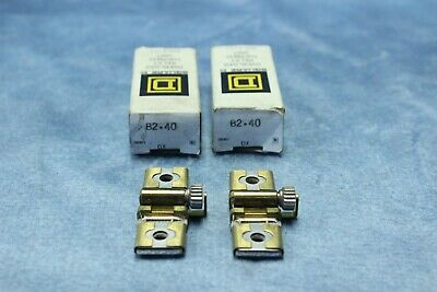 NIB Square D Overload Relay Buy it Now=2pcs Thermal Unit B2.40 FREE SHIPPING!!!