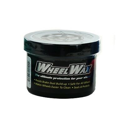 WheelWax Clean Polish Protect Rims Repel Wheel Wax Brake Dust Shine Cleaner 8oz