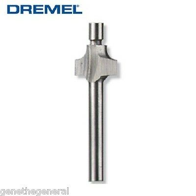 "2 New Dremel 3/32"" 612 Round Over Beading Router Bit 1/8"" Shank All Rotary Tools"