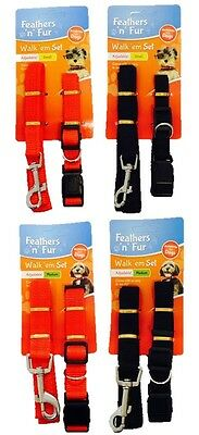 Dog Lead Adjustable Dog Collar Clip Leash Pet Puppy Harness Guide Rope